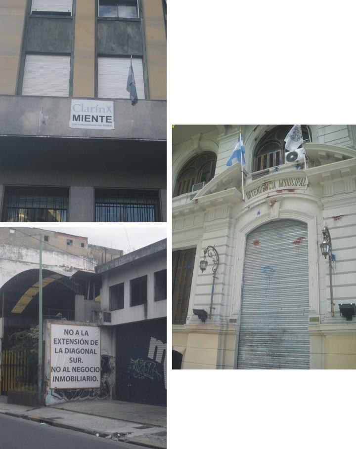 Manifestaciones Buenos Aires