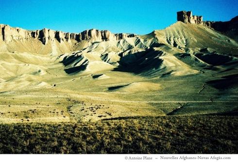 Band-e Amir, rebaño en la madrugada