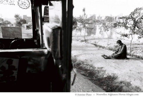 Herat, las preces del conductor