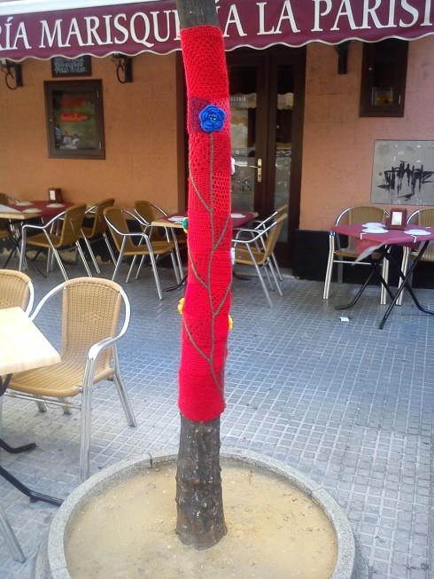 Yarn Bombing Sevilla